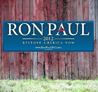 Bad Politics Ron Paul restore america now
